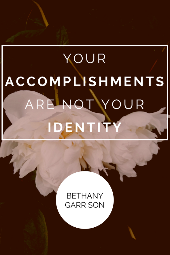 Your Accomplishments Are Not Your Identity